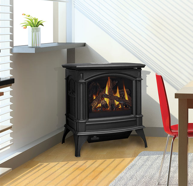 gas vent free stove